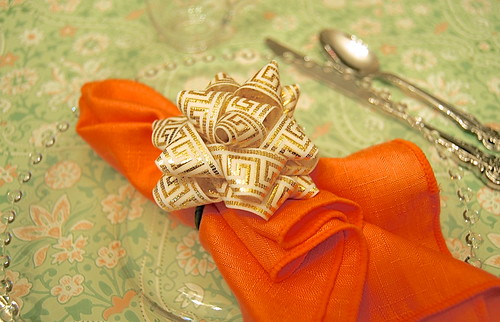 Greek Key Napkin Rings Tutorial