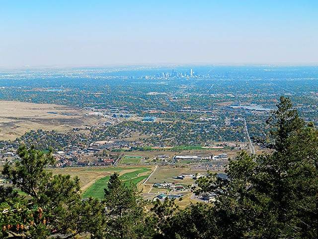 Denver From Lookout Mountain Flickr Photo Sharing