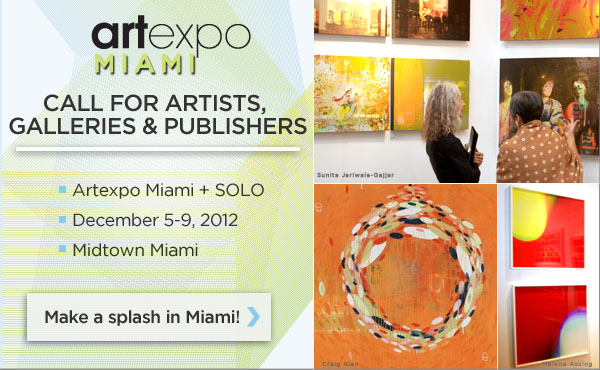 Artexpo Miami Call For Artists
