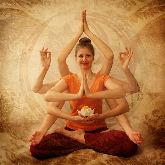Inspiring Asanas. Unity in Multiplicity of Being Happy