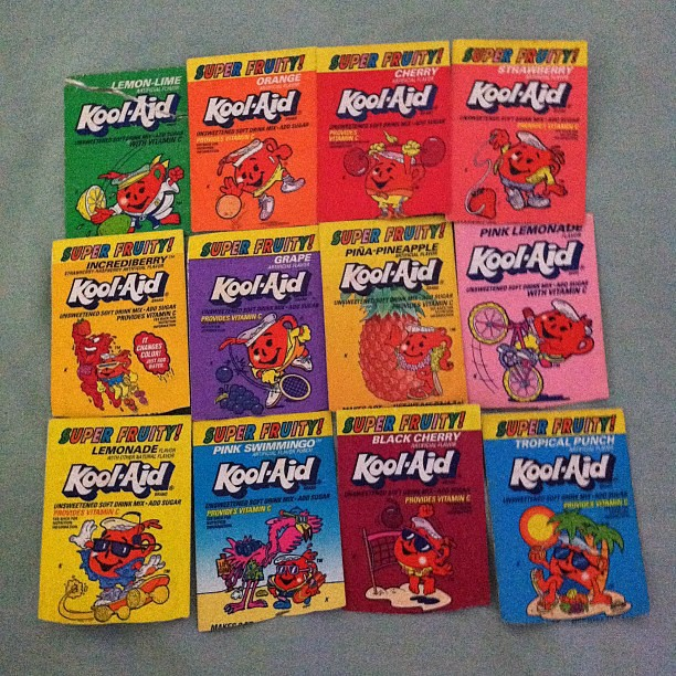Grab A Sammie And A Kool Aid: My Kool-Aid Collection