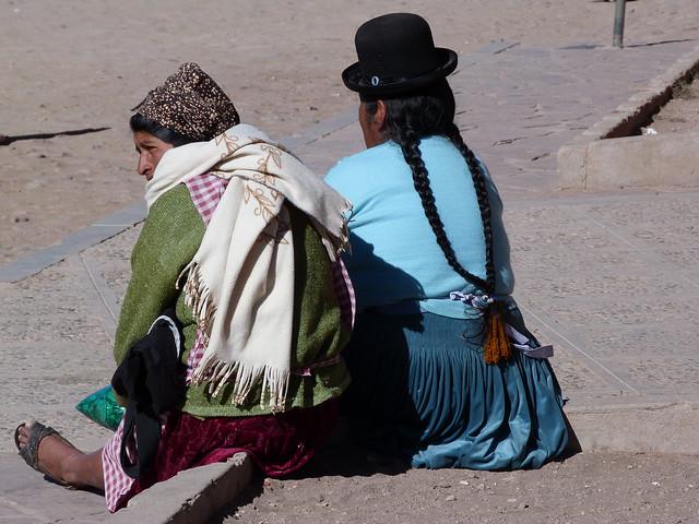 Mujeres indígenas de Bolivia
