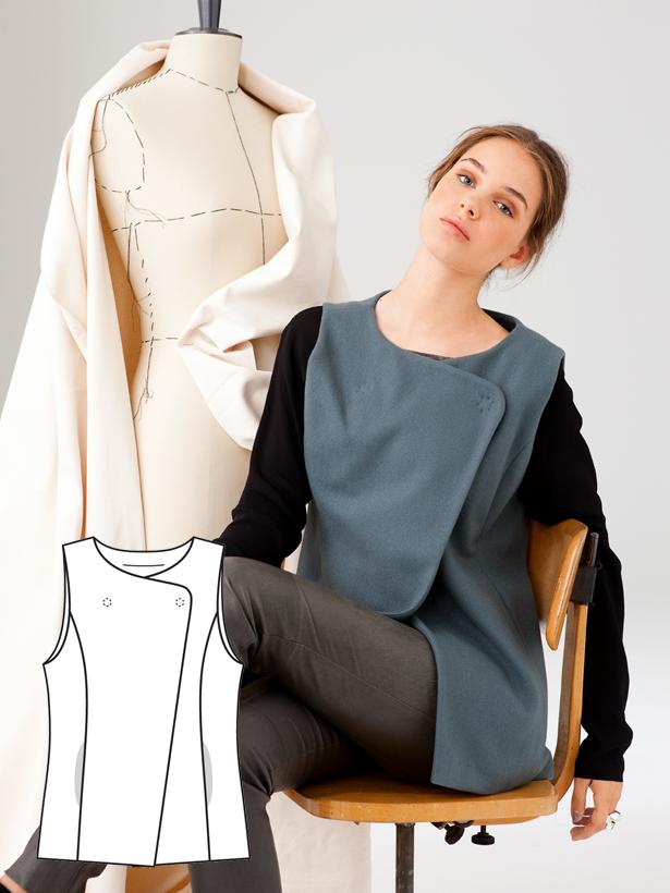 Modern Minimalist: 11 New Women\'s Sewing Patterns – Sewing Blog ...