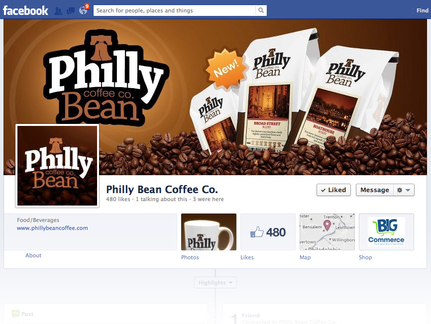 Philly Bean Social Media
