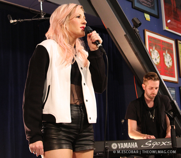 Ellie Goulding @ Amoeba Records, LA 10/17/2012