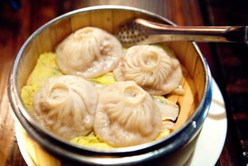 Crabmeat and pork soup dumplings
