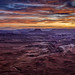 Sunset in the Island in the Sky, Canyonlands National Park