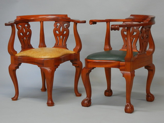 Chippendale Corner Chair Chippendale Corner Chairs