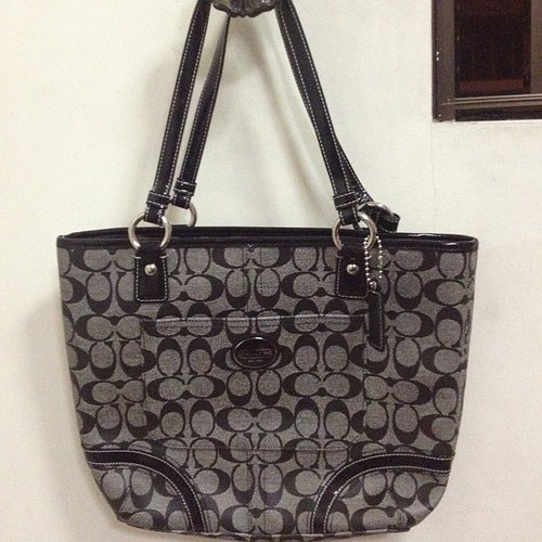 For Sale Original Coach Gallery black
