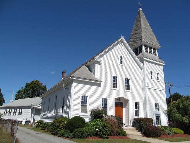 Harrisville Rhode Island Town Common Gazebo