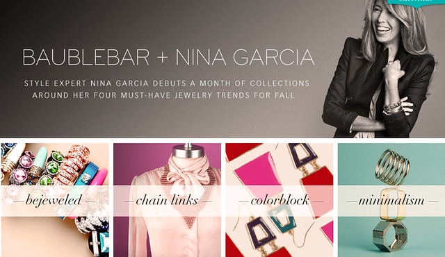 Bauble Bar Nina Garcia