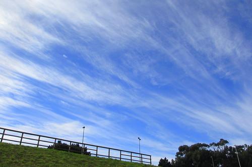 Nubes desde Los Rosales by treboada