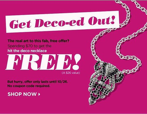 Get a FREE mark. Hit the Deco Necklace
