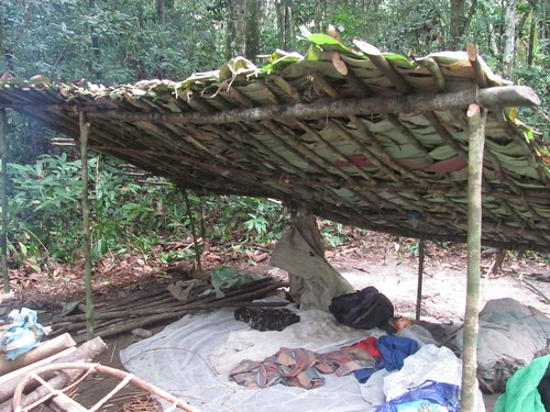 poacher's shelter