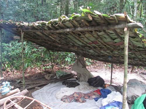 poacher's shelter