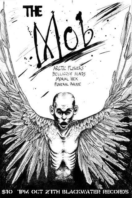 10/27/12 TheMob/ArcticFlowers/BellicoseMinds/MoralHex/FuneralParade