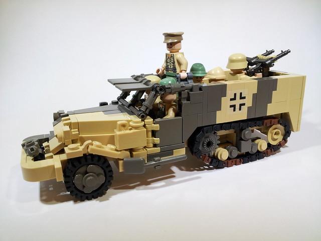 DAK Captured M3