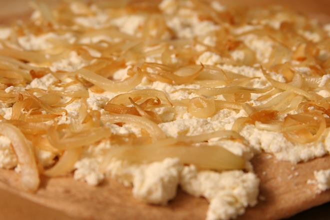 ricotta prosciutto pizza 3