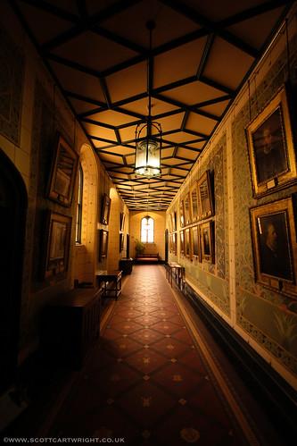 Penrhyn Castle Corridor
