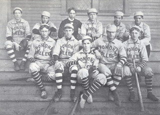 Baseball team at Pomona College in 1900