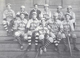 Baseball team at Pomona College in 1900
