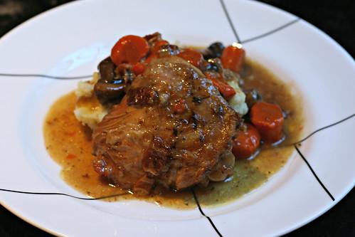 Crockpot Coq au Vin