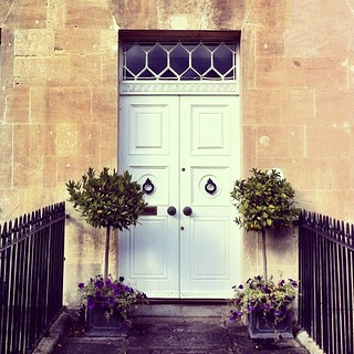 Fabulous front doors by the bucket load in #bath