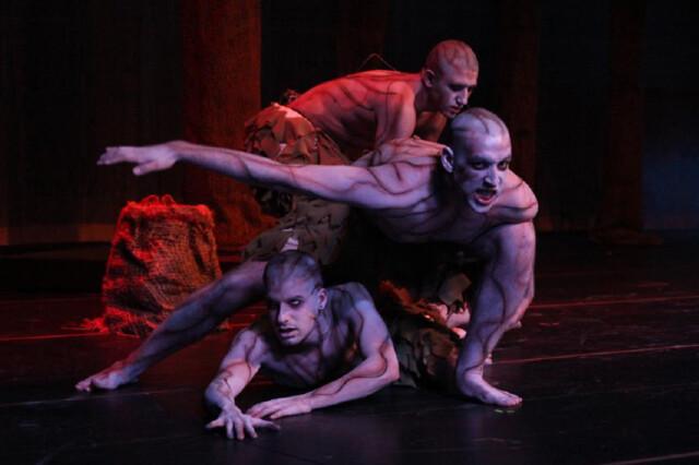 Presentación de la obra de teatro Bodas de Sangre, en el Teatro TAMIU, Laredo