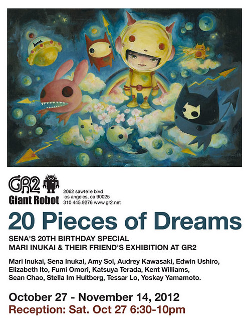20 Pieces of Dreams, group show at GR2!