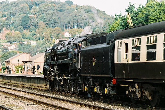 92203 BR 9F 2-10-0, 'Black Prince', Minehead, 7th October 2012