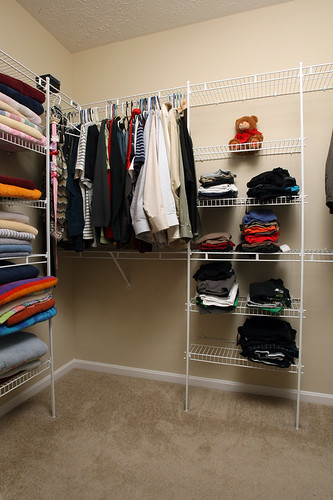 Spacious walk-in closet in Flatrock Ridge
