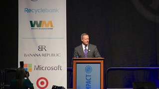 Governor Martin O'Malley Keynote at NetImpact 16754