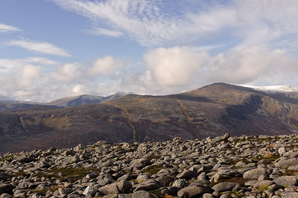 Cairn Toul and Derry Cairngorm