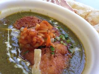 インド料理どっと混む