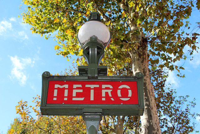 Metro-Station ahead