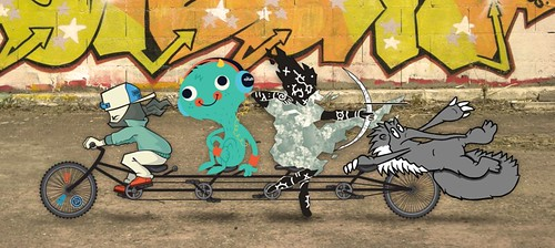 multi-rider bike collab #5 preview