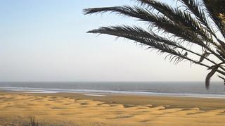 Sandy beach görüntü. beach morocco maroc sidikaouki
