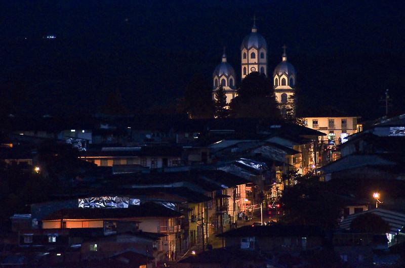 Imagen del Panorama del centro de Filandia, Quindio