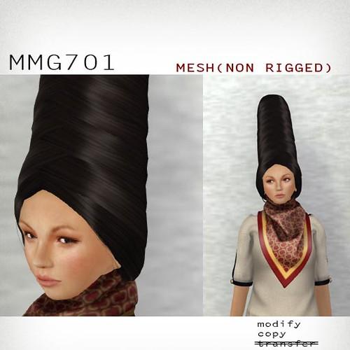 booN MMG701 hair