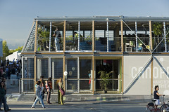 <p>Canopea / Solar Decathlon Europe 2012 / I+D+Art<br /> <br /> Exterior</p>