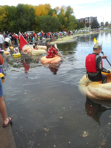 Pumpkin Regatta in SL,UT