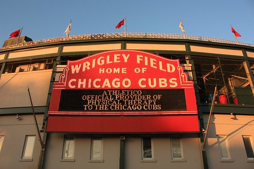 Wrigley Field Stadium - Chicago