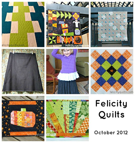 Fresh Sewing October collage
