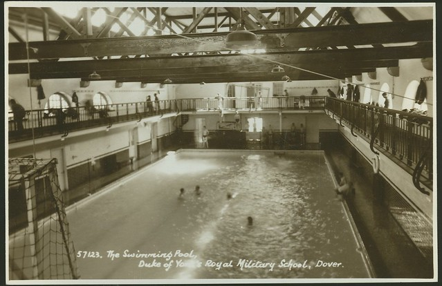 Postcard The Swimming Pool Duke Of York 39 S Royal Military School Dover Flickr Photo Sharing