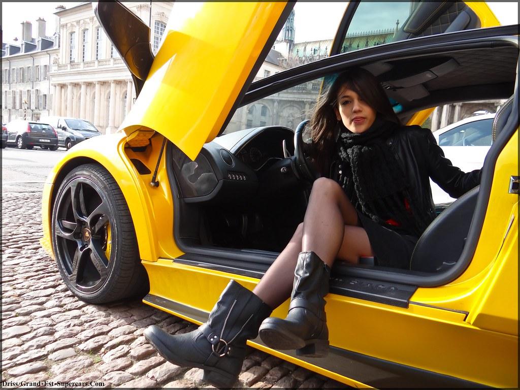 Girl Lamborghini Grand Est Supercars Com A Photo On