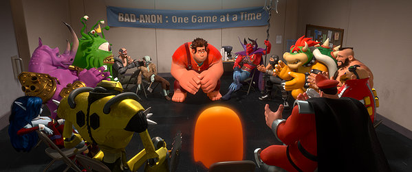 Ralph (John C. Reilly) doesn't want to be such a wrecker anymore in WRECK-IT RALPH.