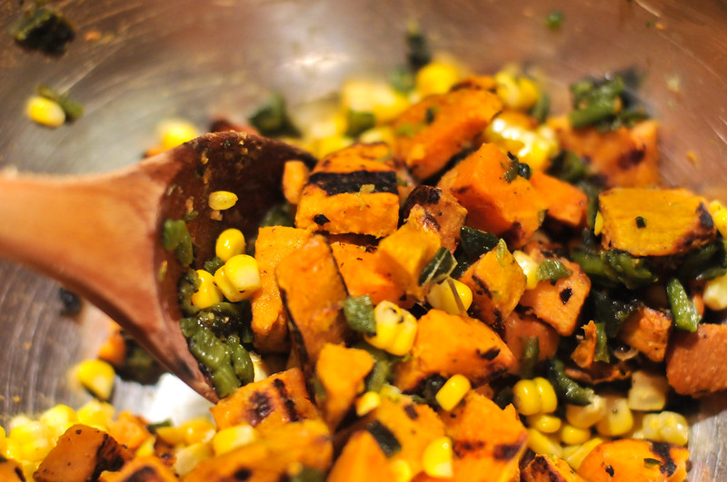 Sweet Potato and Corn Salad