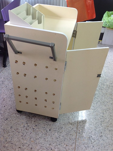 Custom Made iPad wheeled-cart