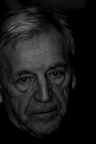 Costa Gavras - film director by Teacher Dude's BBQ