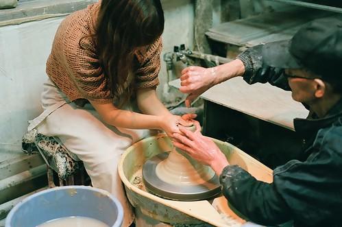 potter's wheel.